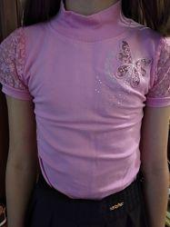 Блузочки 2 шт.  на 6 -8 лет.