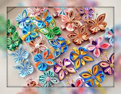 Бабочки, стрекозки. божьи коровки