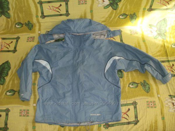 Бомбезная ветровка-куртка TRESPASS с системой Waterpoof на 134-140см