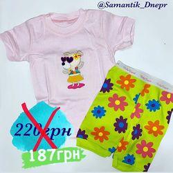 РАСПРОДАЖА Летние пижамки  Baby GAPok для мальчиков и девочек