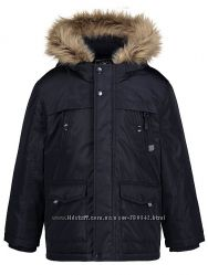 Темно-синяя куртка парка George. 128 см.