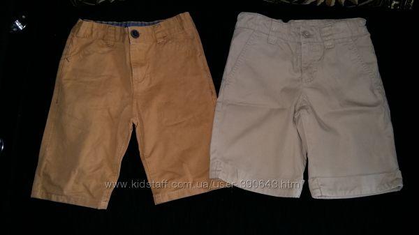 Стильные шорты Benetton и Nutmeg, на 6-7 лет, рост 116-122 см.