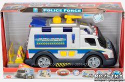 Полицейская машина со звуковыми и световыми эффектами, 33 см Dickie toys