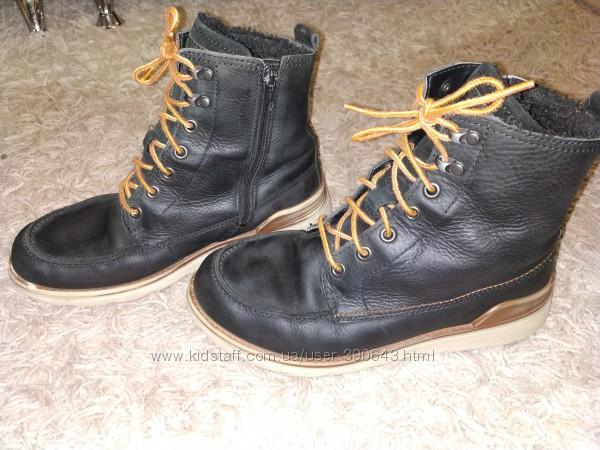 Зимние термо ботинки ECCO Gore-tex, размер  37.