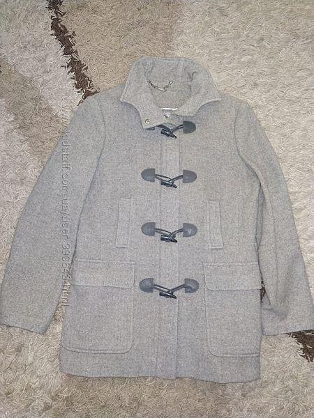Демисезонное шерстяное пальто Next, размер С-М, указан UK 10, EUR 38