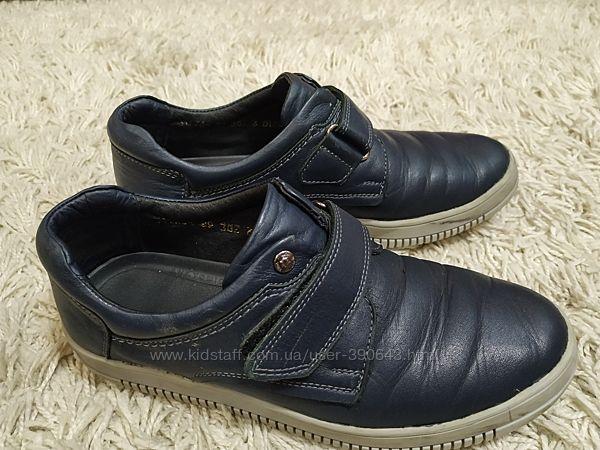 Туфли подростковые фирмы MIDA , размер 38. Длина стельки 24 см