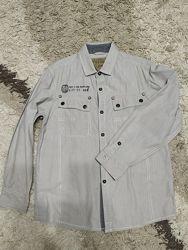 Рубашка Next на 9 лет, рост 134 см.