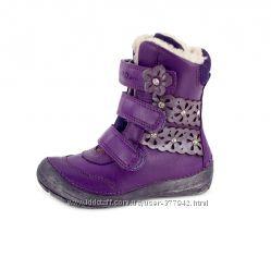 Качественные, теплые ботинки DD Step 31-36р