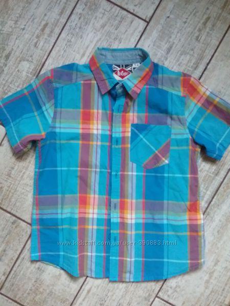 Продам рубашку Lee Cooper р. 5-6 р. 110-116 Англия