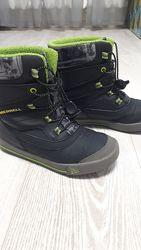 Продам зимние тёплые ботинки Merrell р.33 р.1 в хорошем состоянии