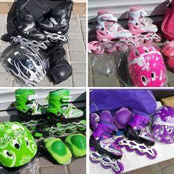 Набор Роликов шлем защита все в комплекте