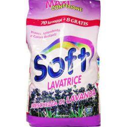 Безфосфатные стиральные порошки и жидкие средства для стирки SOFT из Италии