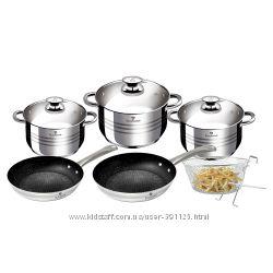 Набор посуды Blaumann BL-3243 10 предметов индукция с 2-мя сковородками
