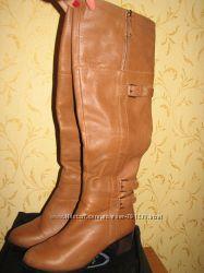Женские кожаные сапоги ботфорды Battisto Lascari  р. 38 зима
