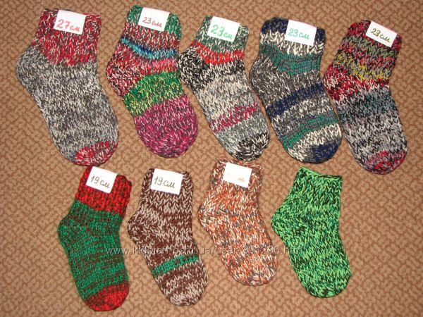 Вязанные носочки для Вас и Ваших деток
