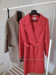 Элегантное демисезонное пальто, шерсть