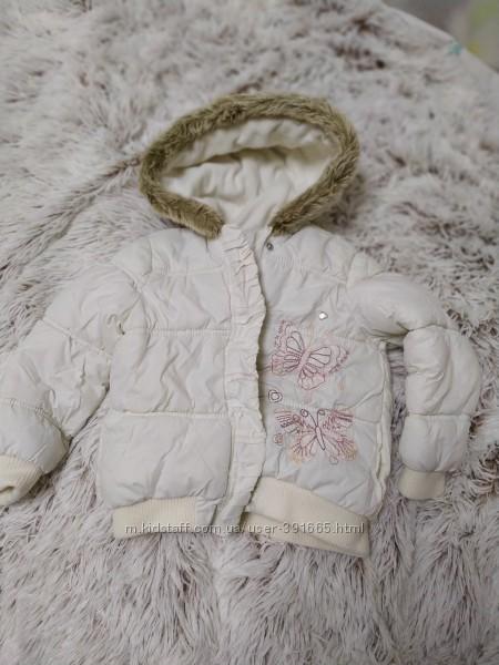 Зимняя куртка Matalan 2-3  года