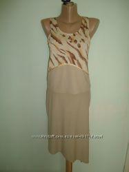 Красивый летний костюм блуза и юбка р. 44