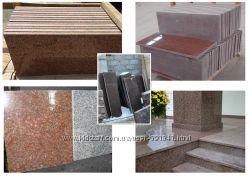 плитка, столешница, подоконник, ступени из гранита изделия и другое