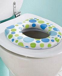 сиденье детское для унитаза мягкое, накладка на унитаз, детский туалет