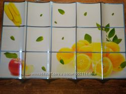 Фотообои на стену кухни антижир, защитная плёнка, кухонная наклейка