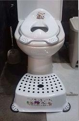 комплект детский ступенька и сиденье на унитаз, адаптер туалетный