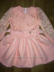 Шикарные, нарядные платья 86-92-98-104