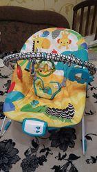 кресло-качалка для новорожденных bright starts