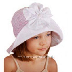 Хлопковая панамка pupill  на девочку 2-4 года