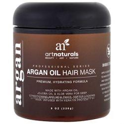 Artnaturals, Маска для волос с аргановым маслом. Органика. США