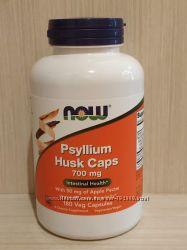 Now Foods, Шелуха семян подорожника, 700 мг, 180 шт очистка организма