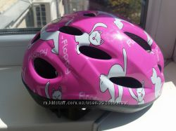 Велошлем для девочки 48-52