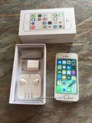 Продам iPhone 5S White 32Gb, оригинал, новый
