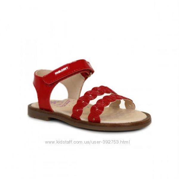 Красные сандалии босоножки размер 30 дл. стельки 19. 3 см Pablosky