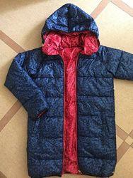 Двустороннее деми пальто Little Mark Jacobs размер 12 на рост 156-164