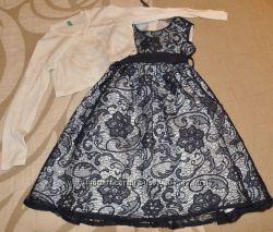 Нарядное платье и болеро BENETTON