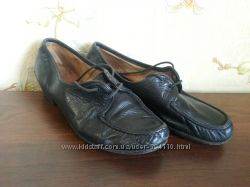 Туфли кожаные черные 36 р. стелька 23, 5 см