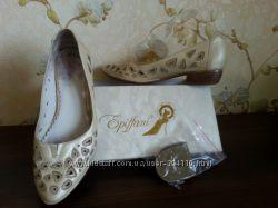 Туфли кожа Epyffani 36 р.  подарок стелька 36, 5 см