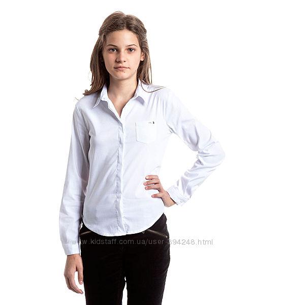 Блузки школьные девочке, С&А, размеры 140 и 152