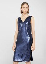 Расшитое пайетками  платье от Mango Premium, xs-s