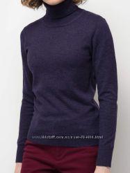 Водолазка. Тонкий свитер из 100 шерсти. Под заказ.