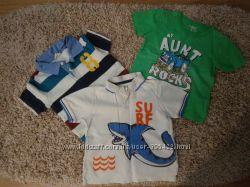 Много фирменных футболок 3-6 лет в отличном состоянии