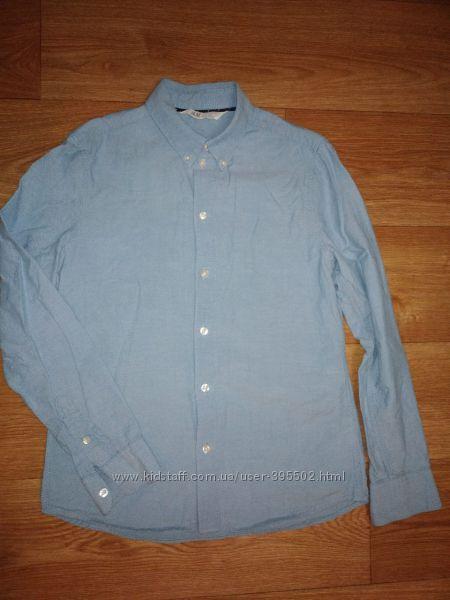 Голубая рубашка НМ