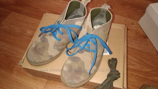 Замшевые ботинки Landsend