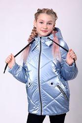 Новинка, демисезонная куртка Сьюзи 128-158 см