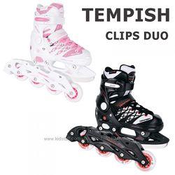 Ролики-коньки 2 в 1 TEMPISH Clips DUO. Бесплатная доставка.