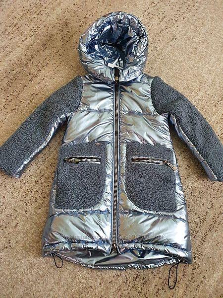 Яркое пальто фирмы Suzie рост  128 см.