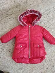 Курточки на маленьких принцес. Рост 80 см