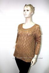 Ажурный свитер Франция