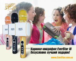 Беспроводной Микрофон EverStar i8 - это лучший подарок ребенку